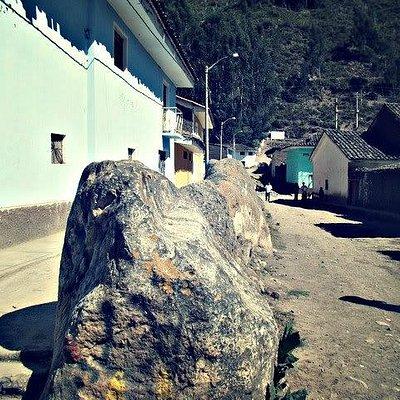 Foto desde el cruce de las calles Tupac Amaru y Bolívar hacia el oeste.