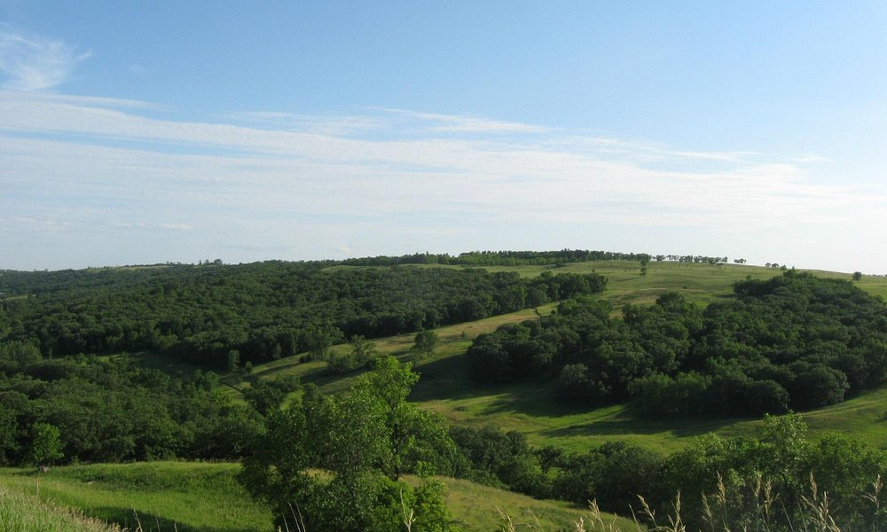Fort Ransom State Park Scenic Overlook - Fort Ransom, ND