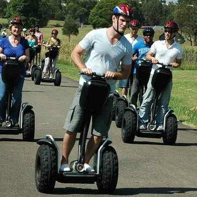Segway Tours Australia at Sydney Olympic Park