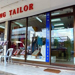 Hong kon tailor outside