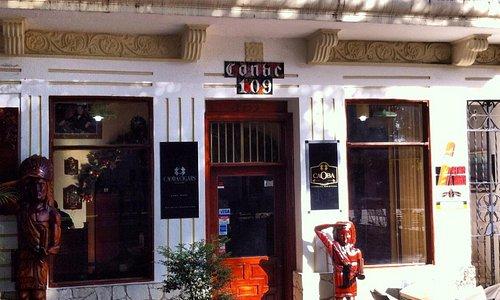 Uma das lojas de Tabaco