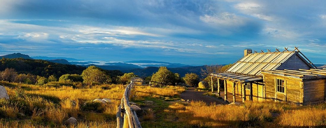 Craig's Hut - iconic hut from the Man From Snowy River