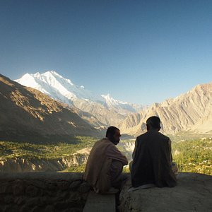 The peaceful Hunza Valley