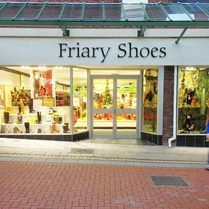 Outside Friary Shoes