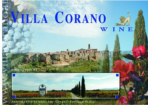 Villa Corano - Pitigliano - territorio e tradizione