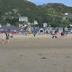 Dinas Oleu from the beach