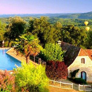 La piscine de 25m., Hameau du sentier des sources à Sarlat