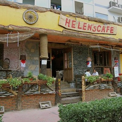 helen's cafe from outside