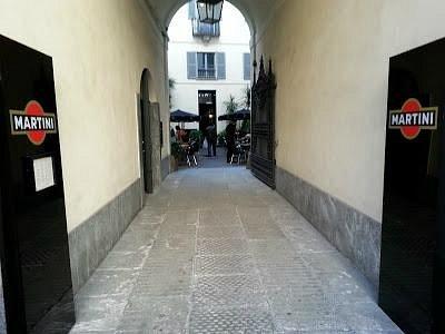 L' ingresso da Corso Venezia