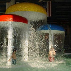 Mushroom Fountains