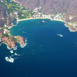 Tangolunda Bay near Huatulco, Mexico
