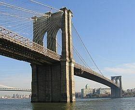 Brooklyn Bridge from Brooklyn Heights