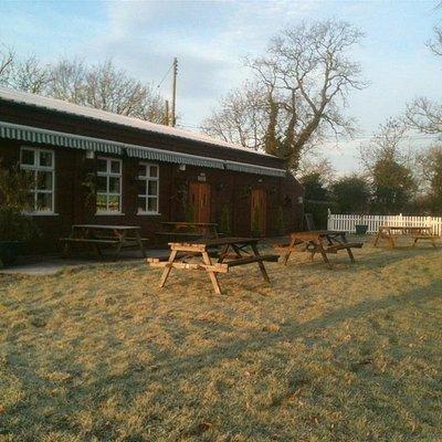 Frosty morning at haystacks