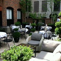 Our rooftop patio is a popular and beautiful spot to dine during the warmer months