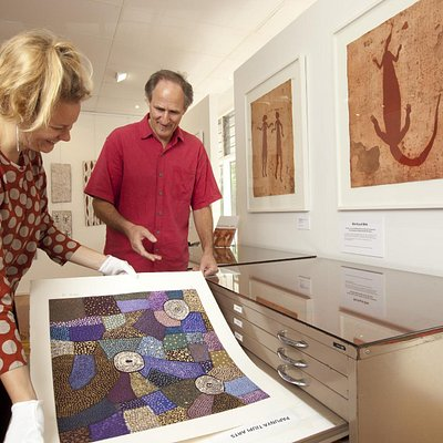 Limited edition prints from Art Centres and print workshops from the Top End and central Austral