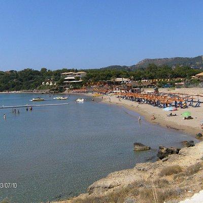 Agios Nikolaos beach (Vassilikos' peninsula)