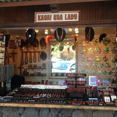 Kauai Koa Lady Shop in Old Koloa Town