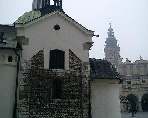 Romanesque walls of St. Adalbert's Church