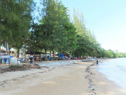 beachbars at pasai beach