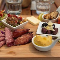 Cable bay platter (served with bread)