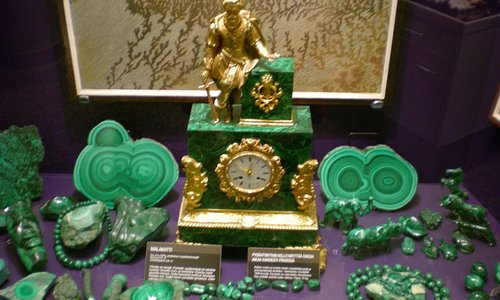 В музее минералов Тампере