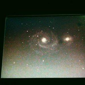 Galaxies through the Mallincam video system
