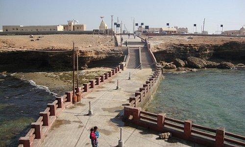 view from bhadkeshwar mahadev temple