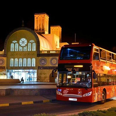City Sightseeing Sharjah at Central Souq bus stop