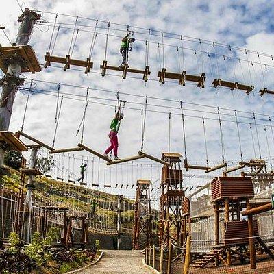 Mucha diversión y superación de retos en altura