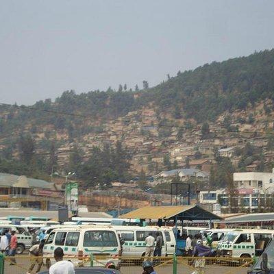 The National Taxi & Bus Park, at Nyabugogo, Kigali