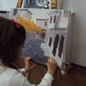 yağlıboya, yaş 7