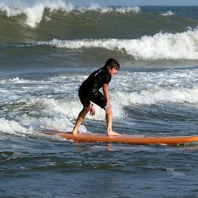 All you need is you!  Wet have wetsuits, boards and WAVES
