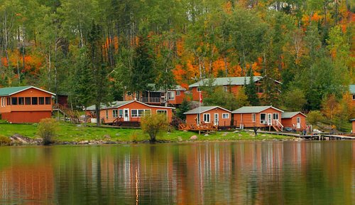 Autumn in Canada at Oak Lake Lodge's Fly in Fishing Lodge