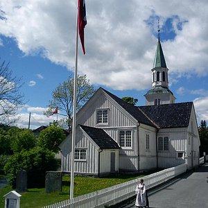 Risor Church, The Church of the Holy Spirit AD 1647