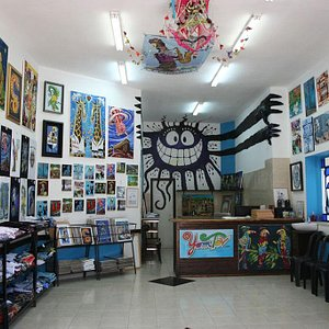 Yom Tov Art Gallery Tzfat Israel #safed #tzfat #aritst #israel #art
