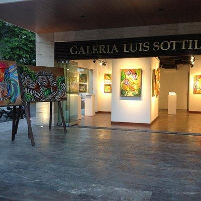 Galerie Luis Sottil - Peintre Mexicain - Créateur du « Naturalismo »