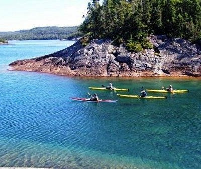 Lake Superior Provincial Park, Sea Kayaking