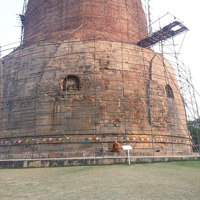 The Dhamek Stupa