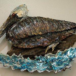 Metal sculptures by Trudi Gilliam