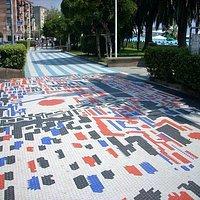Passeggiata e mosaici