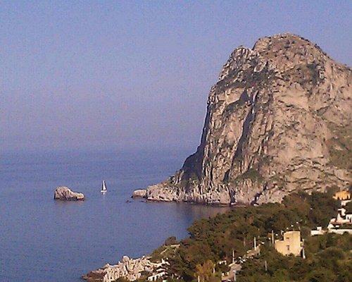 Capo Zafferano visto dal Parco di Monte Catalfano.