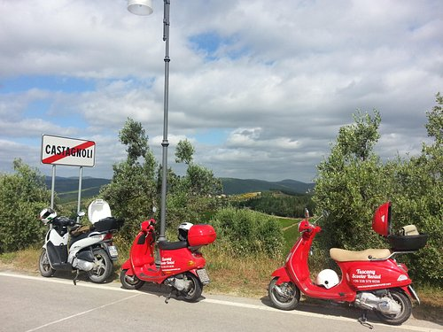 A stop by the roadside for a look at the views and a brief history lesson