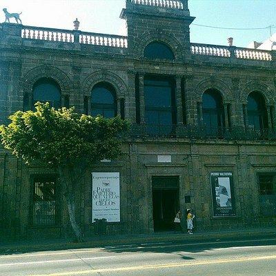 Fachada del Museo del Periodismo