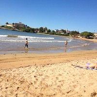 Praia dos Namorados em Iriri