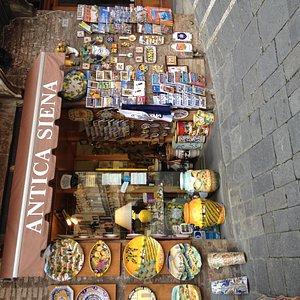 negozio Antica SIena PIazza del CAmpo