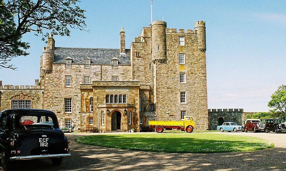 Castle of Mey - home to Queen Elizabeth, the Queen Mother