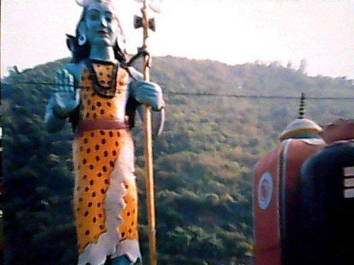 LORD SHIVA on road at kedarnath to badrinarayan
