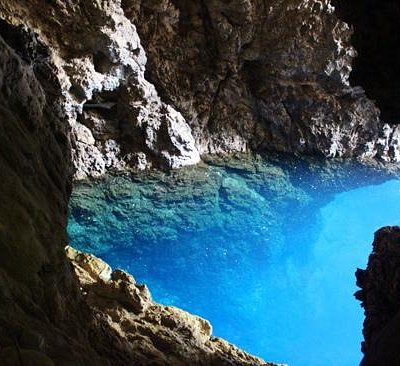 View from the Dark Cave