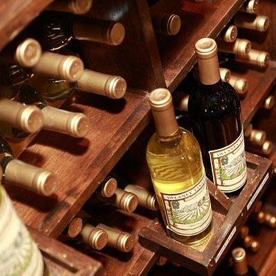 Wine Rack in Retail Store
