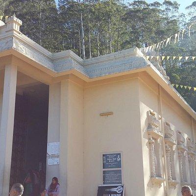 A view of the Bhakta Hanuman Temple